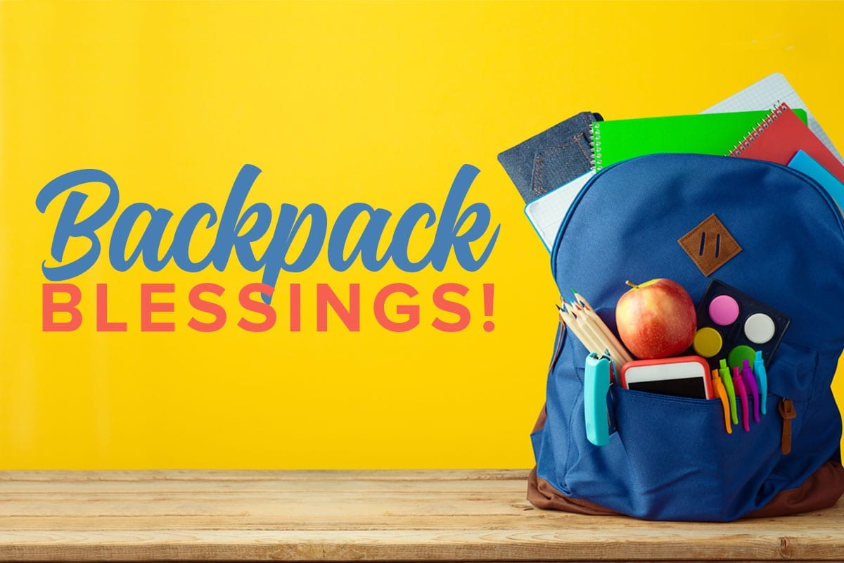 backpack blessings