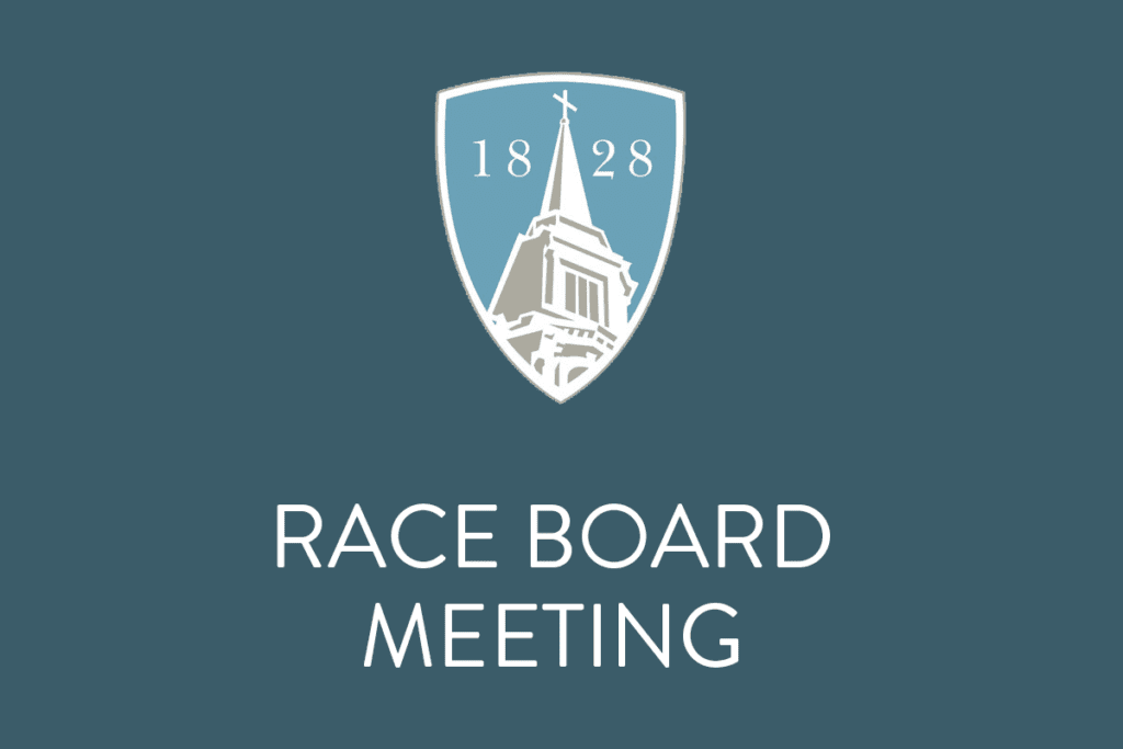 RACE Board Meeting