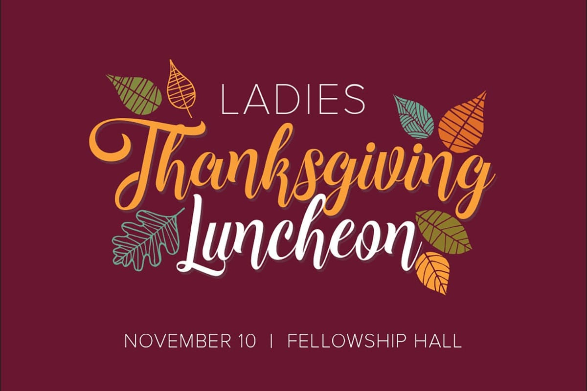 Ladies Thanksgiving Luncheon