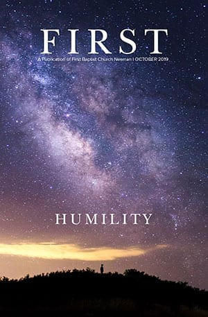 Humility October cover