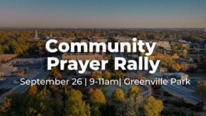 community prayer rally