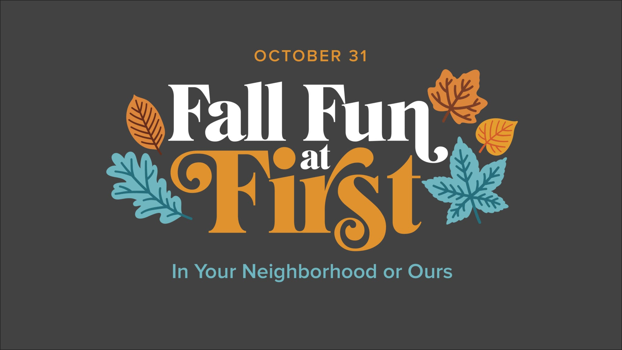 Fall Fun at First