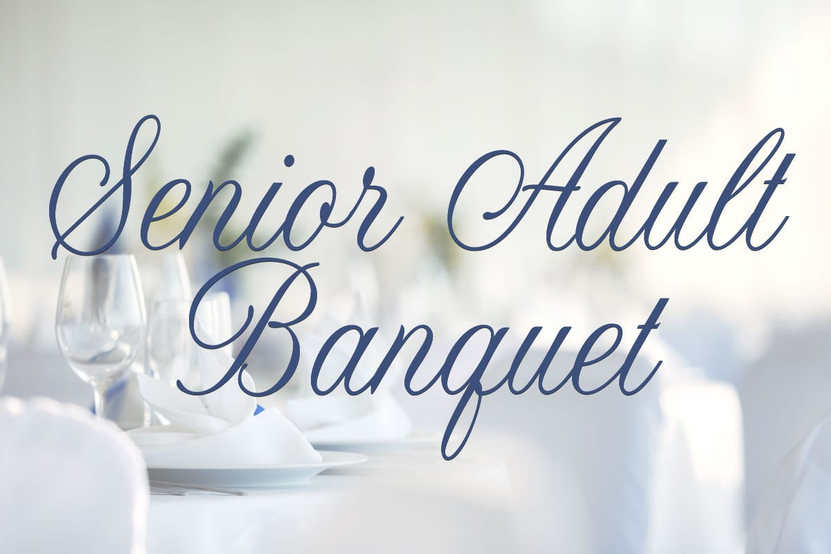 Senior Adult Banquet